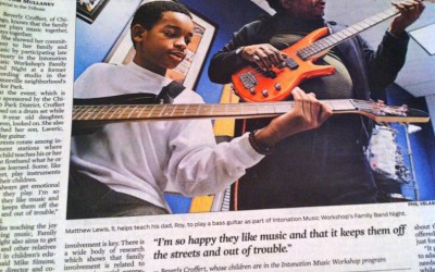 Family Band Night feature in the Chicago Tribune!