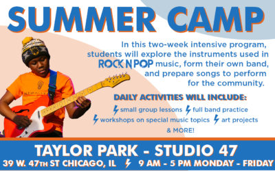 SUMMER CAMP – FREE FOR 6th – 8th GRADERS