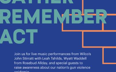 Wyatt Waddell and Wilco's John Stirratt perform to raise gun violence awareness