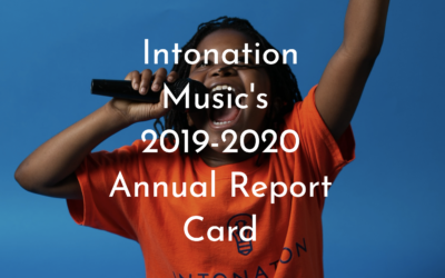 Intonation's 2019 – 2020 Annual Report is Here!